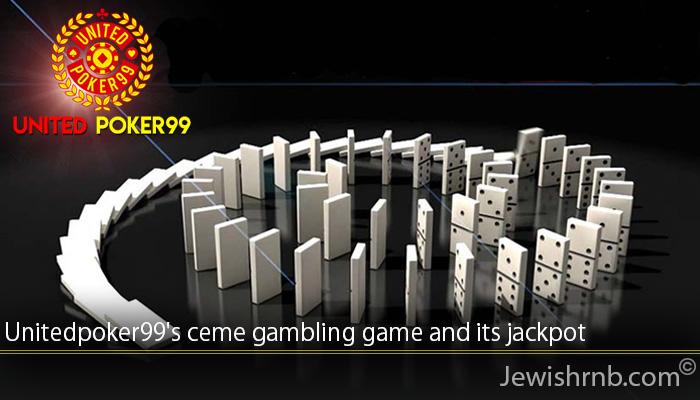 Unitedpoker99's ceme gambling game and its jackpot